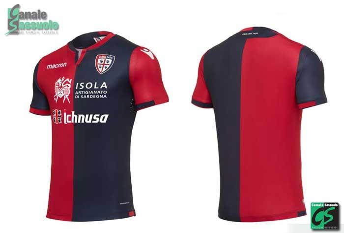 prima maglia Cagliari 2017-18