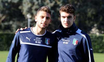 Domenico Berardi e Luca Antei