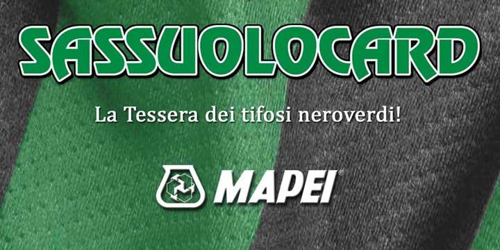 Tessera del Tifoso Sassuolo