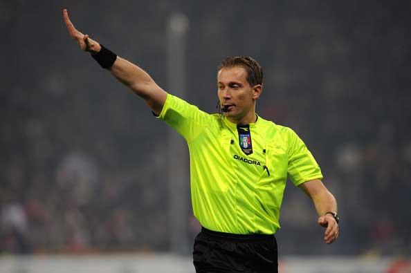 Paolo Valeri sassuolo-juventus arbitro