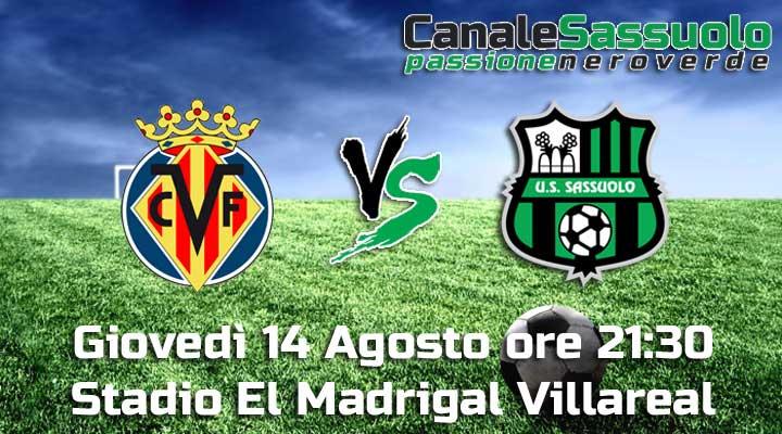 Villarreal-Sassuolo