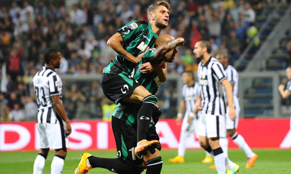 Sassuolo-Juventus, Berardi e Zaza