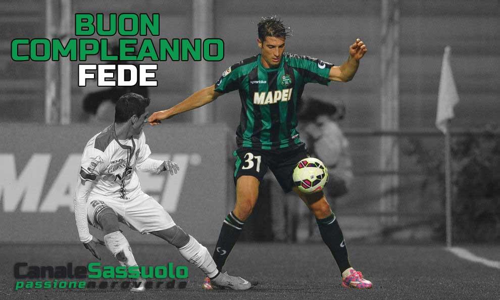 Buon compleanno a Federico Peluso, oggi sono 34!