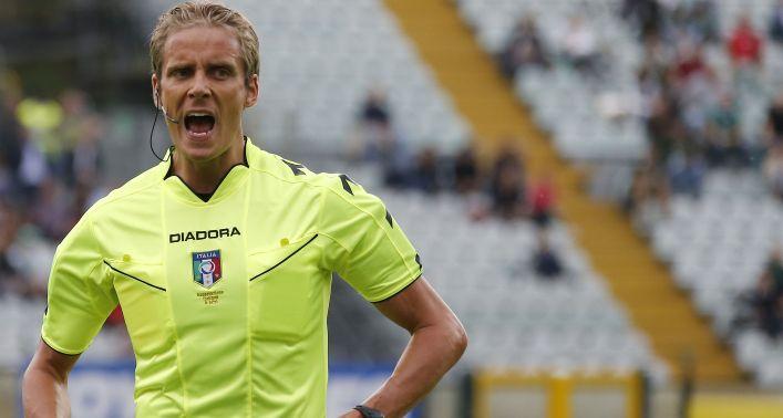 Verso Sassuolo-Lazio: l'arbitro sarà Daniele Chiffi di Padova