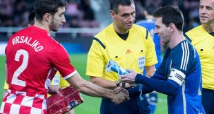 Sime Vrsaljko e Lionel Messi