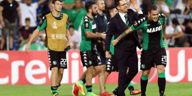 Eusebio Di Francesco, Sassuolo-Athletic Bilbao (foto: repubblica.it)