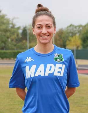 Fabiana Costi (foto: sassuolocalcio.it)