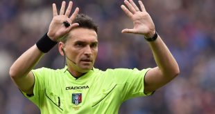 Verso Sassuolo-Fiorentina: dirige Irrati
