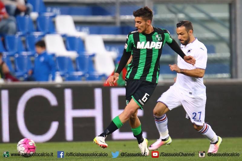 Lorenzo Pellegrini, Sassuolo-Sampdoria