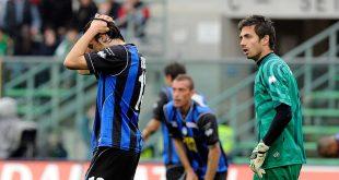 Federico Peluso e Andrea Consigli ai tempi dell'Atalanta (foto: Claudio Villa)