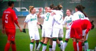 Femminile Serie B: il Sassuolo vince ancora, 4-1 al Marcon