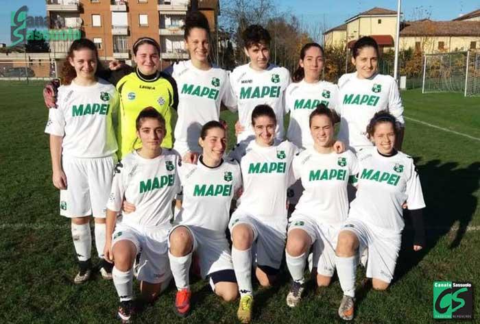 Formazione Sassuolo Femminile Serie D