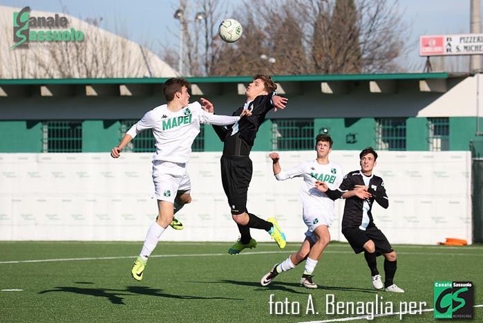 Allievi Under 16 Sassuolo, Sassuolo-Virtus Entella