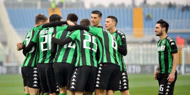 Esultanza Sassuolo-Pescara