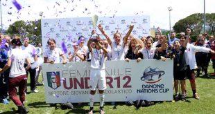 Settore Femminile: l'Under 12 del Sassuolo parteciperà al Danone Nation Cup