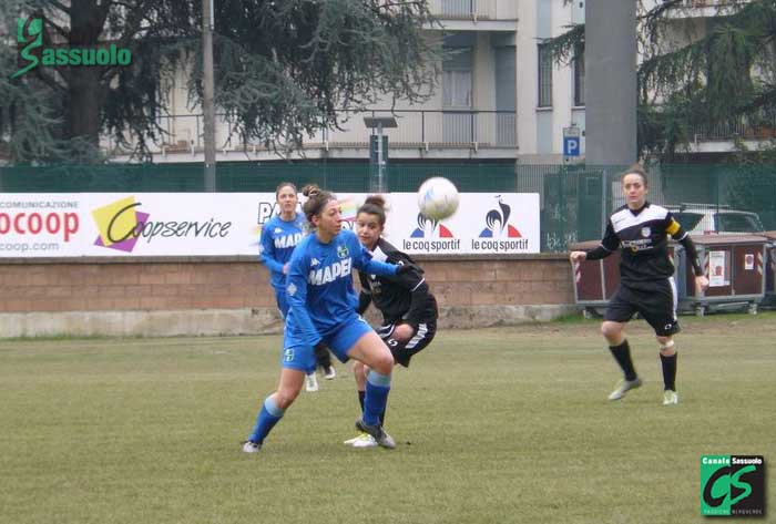 Fabiana Costi del Sassuolo comanda la classifica marcatori con 19 reti