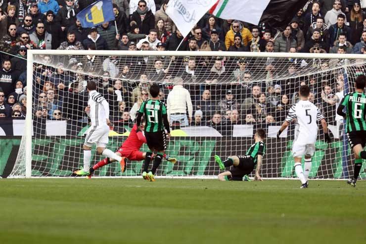 Sassuolo-Juventus 0-2 (foto: ansa)