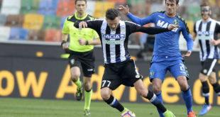 Udinese-Sassuolo 1-2: il cuore neroverde di Defrel rovina la festa all'Udinese