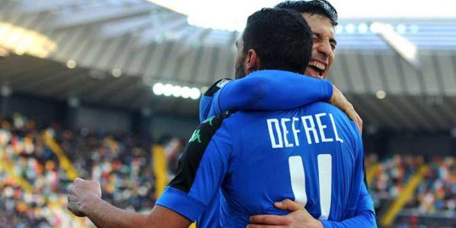 Gregoire Defrel gol, Udinese-Sassuolo