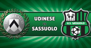 Udinese-Sassuolo, FINALE: 1-2