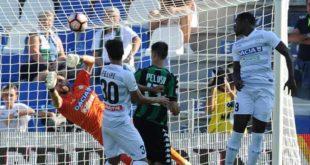 Duvan Zapata in Sassuolo-Udinese (repubblica.it)