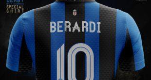 Berardi: c'è chi lo vede già all'Inter, e spunta maglia e numero