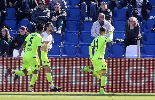 Sassuolo-Bologna gol Destro