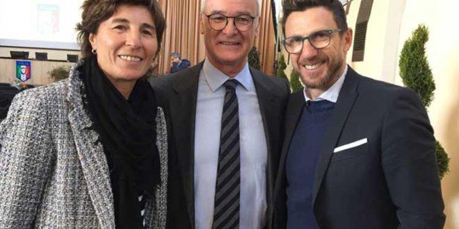 Federica D'Astolfo - Claudio Ranieri - Eusebio Di Francesc
