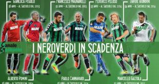 Magnanelli, Cannavaro e gli altri: in sette in scadenza a giugno