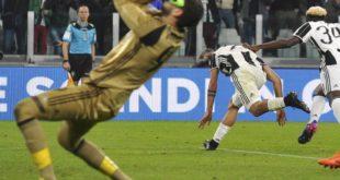 L'esultanza di Dybala e la disperazione di Donnarumma dopo il rigore che ha dato la vittoria alla Juventus sul Milan (fonte: repubblica.it)