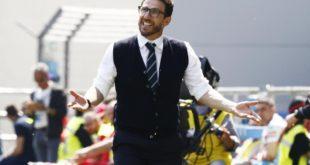 """Post Sassuolo-Napoli, Di Francesco: """"Impossibile non concedere nulla"""""""