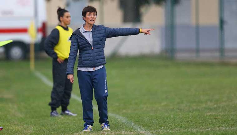 Elena Piazza allenatrice Sassuolo