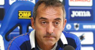 """Giampaolo dopo Sampdoria-Sassuolo 0-0: """"Bravi a non cadere nella trappola di De Zerbi"""""""