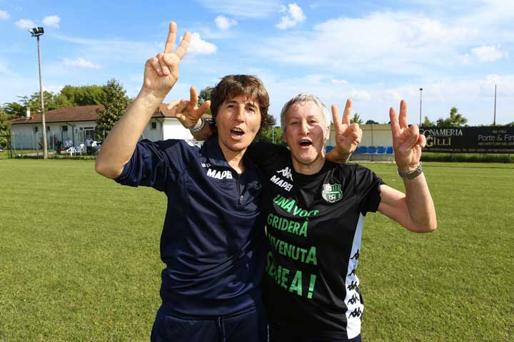 Federica D'Astolfo e Betty Vignotto