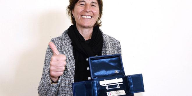TRIS consecutivo di panchine d'argento per l'allenatrice del Sassuolo Federica D'Astolfo