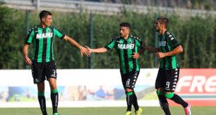 Sassuolo, contro il Real Vicenza finisce 9-0: poker di Iemmello