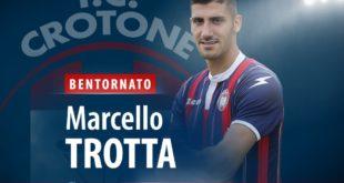 Calciomercato: Trotta torna al Crotone dal Sassuolo