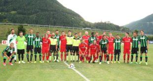 Sassuolo, prima sgambata ok: 21 gol alla Rappresentativa Val Isarco