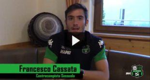 """Francesco Cassata: """"Sassuolo piazza ideale, mi trovo benissimo"""""""