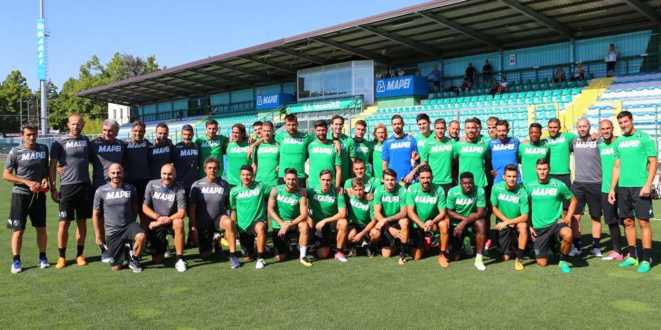 1° ALLENAMENTO SASSUOLO 2017-2018 (foto: sassuolocalcio.it)
