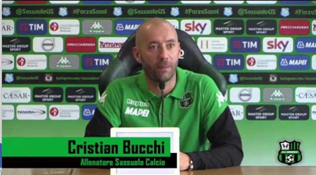 Cristian Bucchi conferenza Sassuolo-Genoa