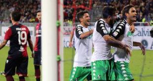 Cagliari-Sassuolo 0-1: i neroverdi espugnano la Sardegna Arena