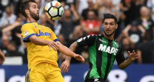Sassuolo-Juventus 1-3: i neroverdi si arrendono alla Joya
