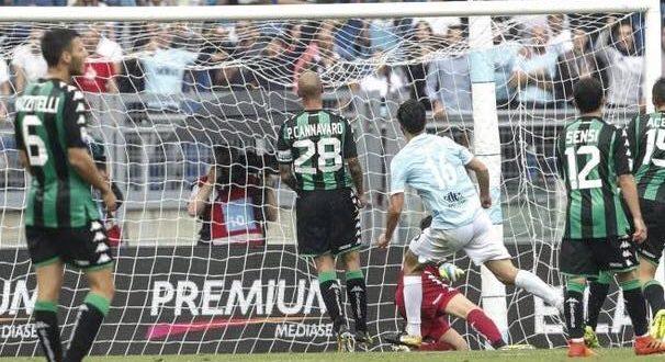 Lazio-Sassuolo 6-1