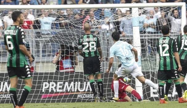 Lazio incontenibile: rimonta e travolge il Sassuolo 6-1