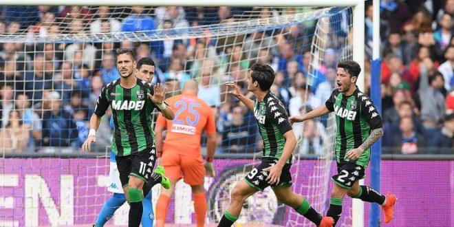 Napoli-Sassuolo 3-1