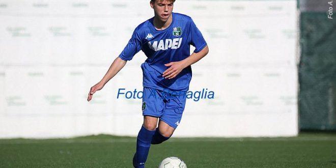 Calciomercato: Federico Artioli firma da professionista, al Sassuolo fino al 2023