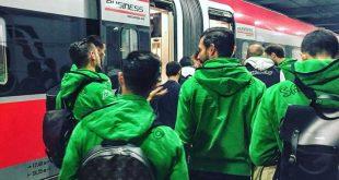Verso Benevento-Sassuolo: per i neroverdi tappa di due giorni a Roma