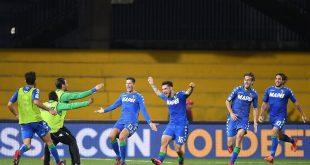 Benevento-Sassuolo 1-2, esultanza