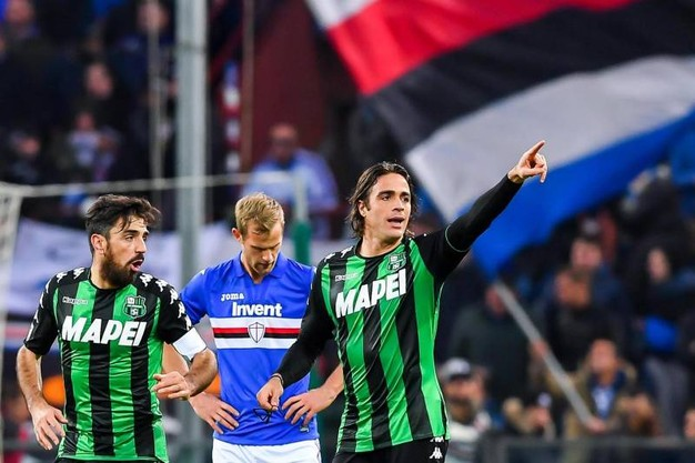 Sampdoria-Sassuolo, Alessandro Matri e Francesco Magnanelli
